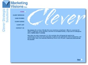 Marketing Visions Website