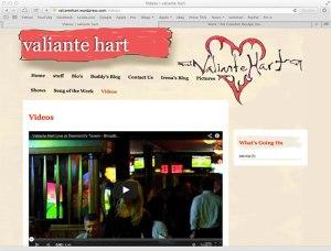 Valiante Hart WordPress Website
