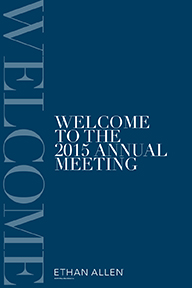 Meeting welcome poster