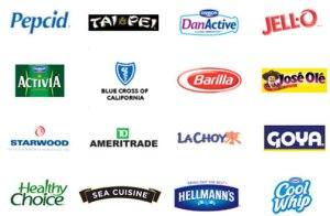 consumer brand logos