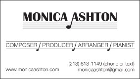 Music Composer's Business Card