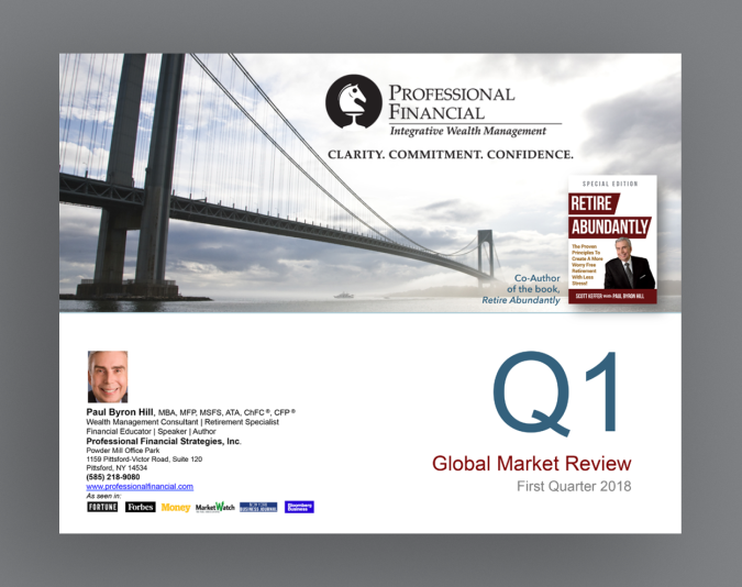 Q1 review as a presentation cover image.