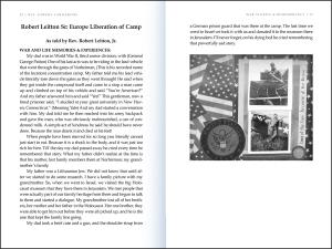 War stories book inside