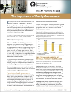 A pdf about family governance