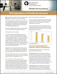 A pdf about family governance